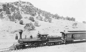 FW Tritle, first train to Prescott
